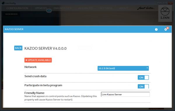Kazoo Server setup Manual - LinnDocs